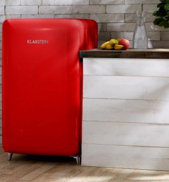 Klarstein PopArt-Bar Nevera retro color roja